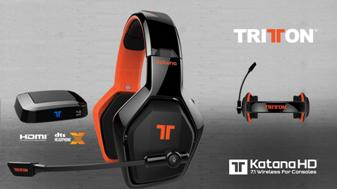 Mad Catz® представляет аудиогарнитуру с интерфейсом HDMI Tritton® Katana HD