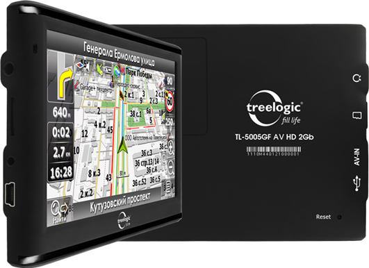 Treelogic TL-5005GF AV HD 2Gb с пробками