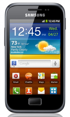 Обновленный Samsung Galaxy Ace Plus