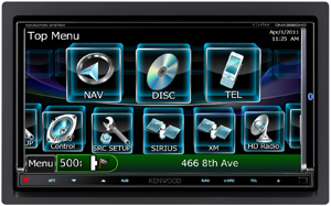 Аудиосистема Kenwood DNX9980HD с GPS