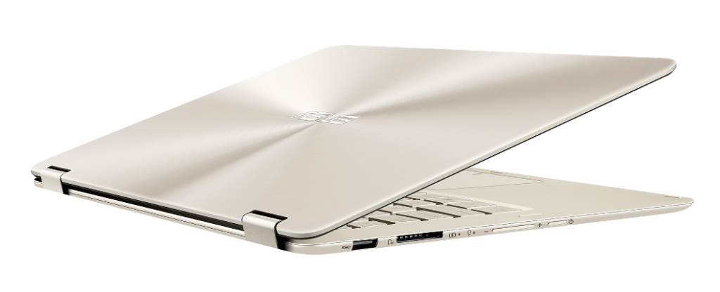 ASUS ZenBook Flip_UX360CA_Icicle Gold_13mm thin and light design.png